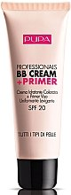 Духи, Парфюмерия, косметика Увлажняющий ВВ крем + праймер - Pupa Professionals BB Cream+Primer