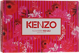 Духи, Парфюмерия, косметика Flower By Kenzo Poppy Bouquet - Набор (edp/50ml + b/lot/50ml + bag/1)
