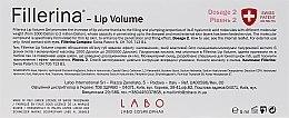 Гель для увеличения объема губ, уровень 2 - Fillerina Lip Volume Grade 2 — фото N2