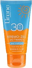 Духи, Парфюмерия, косметика Крем-гель для лица под макияж SPF30 - Lirene Sun
