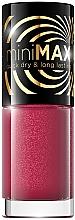 Духи, Парфюмерия, косметика Лак для ногтей - Eveline Cosmetics Mini Max