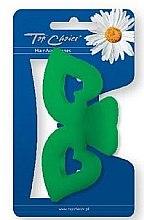 Духи, Парфюмерия, косметика Заколка для волос 24252, зелёная - Top Choice
