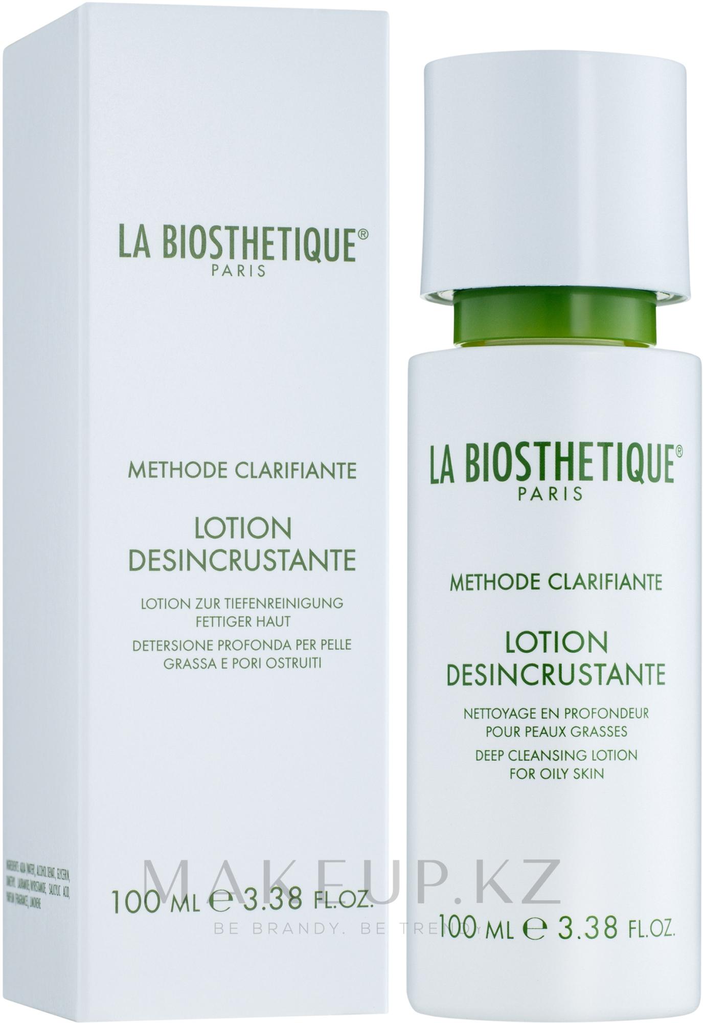 Глубоко очищающий лосьон для жирной кожи - La Biosthetique Methode Clarifiante Lotion Desincrustante — фото 100 ml