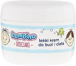 Духи, Парфюмерия, косметика Детский легкий крем для лица и тела - Bambino Kids