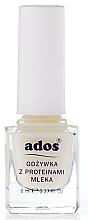 Духи, Парфюмерия, косметика Кондиционер для ногтей с молочными протеинами - Ados
