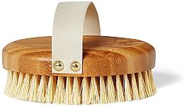 Духи, Парфюмерия, косметика Бамбуковая щетка для сухого массажа - Crystallove Bamboo Agave Body Brush