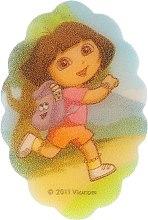 "Духи, Парфюмерия, косметика Мочалка детская ""Дора"", 169-4 - Suavipiel Dora Bath Sponge"