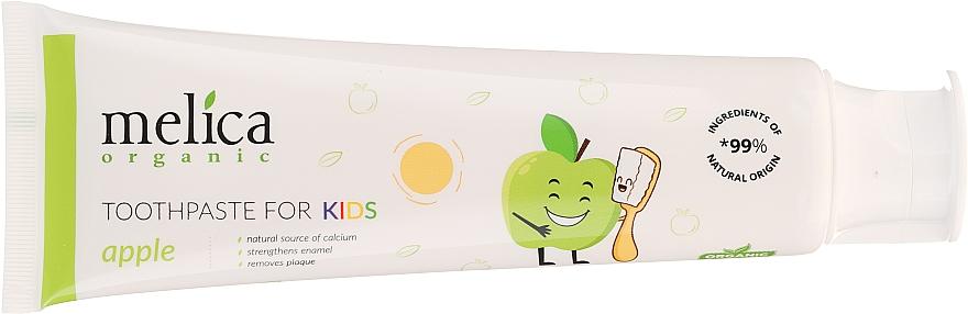 "Детская зубная паста ""Яблоко"" - Melica Organic Toothpaste For Kids Apple — фото N4"