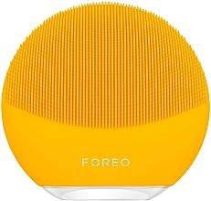 Духи, Парфюмерия, косметика Умная щетка для очистки и комплексного массажа лица - Foreo Luna Mini 3 Facial Cleansing Brush Sunflower Yellow