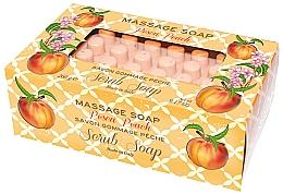 "Духи, Парфюмерия, косметика Мыло-скраб для массажа ""Персик"" - Gori 1919 Massage Scrub Soap Peach"