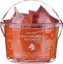 Духи, Парфюмерия, косметика Восстанавливающий крем для лица с конским жиром - Ayoume Enjoy Mini Mayu Face Cream