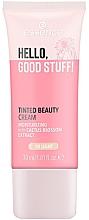 Духи, Парфюмерия, косметика Тонирующий крем - Essence Hello Good Stuff! Tinted Beauty Cream