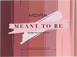 Духи, Парфюмерия, косметика Палетка для макияжа - Moira Meant To Be Eye & Face Palette
