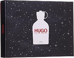 Hugo Boss Hugo Man - Набор (edt/125ml+ deo/150ml + sh/gel/50ml) — фото N1