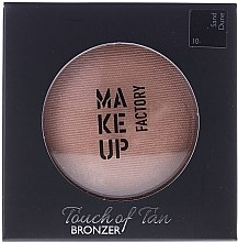 Духи, Парфюмерия, косметика Бронзер для лица - Make up Factory Touch Of Tan Bronzer