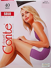 "Духи, Парфюмерия, косметика Колготки ""Solo"" 40 Den, mocca - Conte"