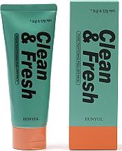 Духи, Парфюмерия, косметика Очищающая пенка для лица сужающая поры - Eunyul Clean & Fresh Pore Tightening Foam Cleanser