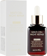 Духи, Парфюмерия, косметика Ночная сыворотка - Secret Key Multi Cell Night Repair Ampoule