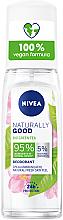 Духи, Парфюмерия, косметика Дезодорант - Nivea Naturally Good Bio Green Tea Deodorant