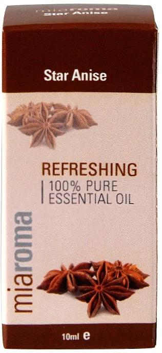 "Эфирное масло ""Звездчатый анис"" - Holland & Barrett Miaroma Star Anise Pure Essential Oil — фото N1"