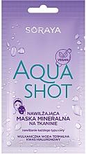 Духи, Парфюмерия, косметика Увлажняющая минеральная маска для всех типов кожи - Soraya Aquashot