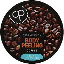 Духи, Парфюмерия, косметика Сахарный пилинг для тела с экстрактом кофе - Cosmepick Body Peeling Coffee