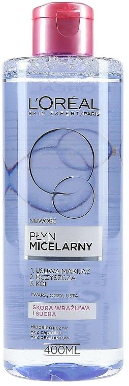 Мягкая мицеллярная вода - L'Oreal Paris Skin Expert Micellar Water — фото N1