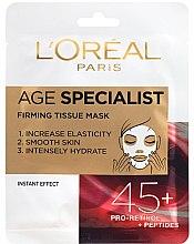 Духи, Парфюмерия, косметика Маска для мгновенного разглаживания кожи - L'Oreal Paris Age Specialist 45+