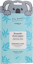 Духи, Парфюмерия, косметика Отшелушевающая маска-носки для ног - Marion Dr Koala Exfoliating Socks