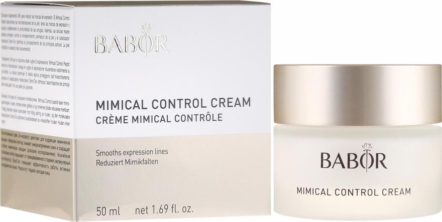 Крем-контроль мимических морщин - Babor Mimical Control Cream — фото N1