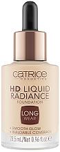 Духи, Парфюмерия, косметика Светоотражающая тональная основа - Catrice HD Liquid Radiance Foundation