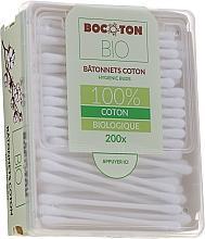 Духи, Парфюмерия, косметика Ватные палочки органические, 200 шт. - Bocoton Bio