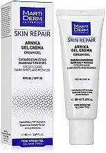 Духи, Парфюмерия, косметика Крем-гель для лица - MartiDerm Skin Repair Arnika Cream Gel SPF 30