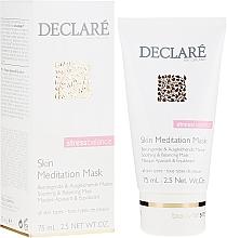 Духи, Парфюмерия, косметика Маска интенсивная успокаивающая мгновенного действия для лица - Declare Stress Balance Skin Meditation Mask