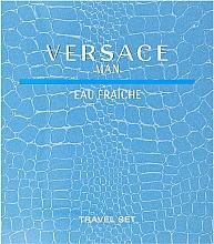 Духи, Парфюмерия, косметика Versace Man Eau Fraiche - Набор (edt/100ml + sh/gel/100ml)