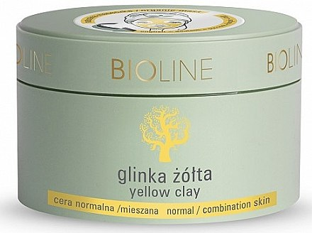 Желтая глина для лица и тела - Bioline Yellow Clay — фото N1