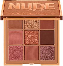 Духи, Парфюмерия, косметика Палетка теней - Huda Beauty Nude Obsessions Palette