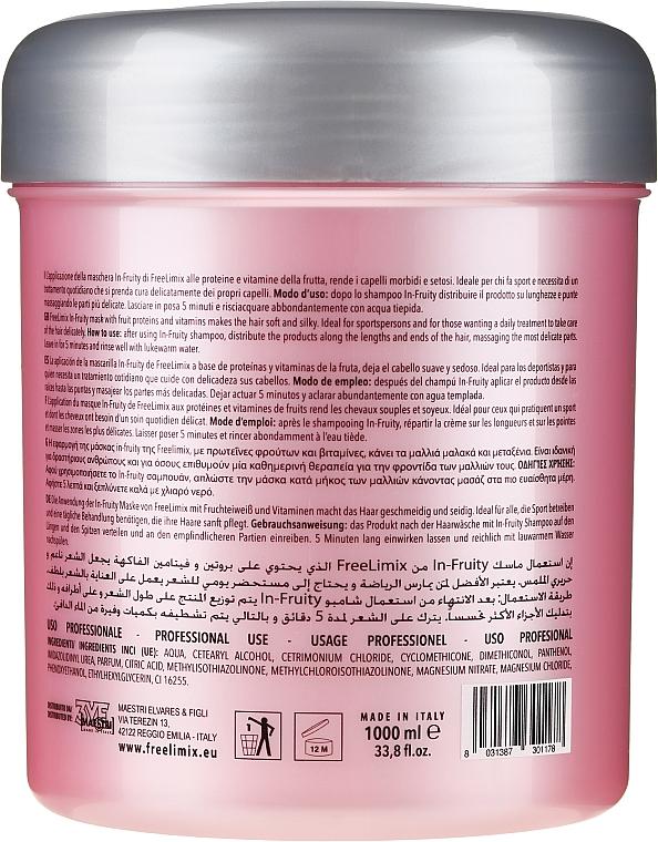 Маска для волос - Freelimix Daily Plus Mask In-Fruit Revitalizing For All Hair Types — фото N2