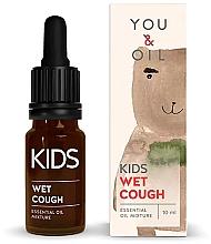 Духи, Парфюмерия, косметика Смесь эфирных масел для детей - You & Oil KI Kids-Wet Cough Essential Oil Mixture