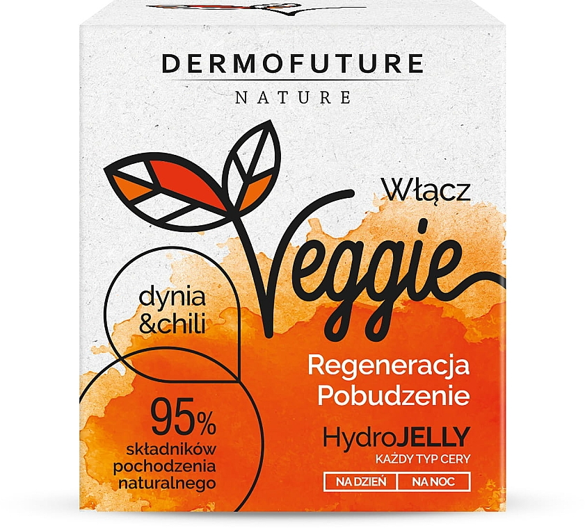 Крем для всех типов кожи - DermoFuture Veggie Pumpkin & Chili Cream — фото N1