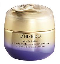 Духи, Парфюмерия, косметика Подтягивающий и укрепляющий крем - Shiseido Vital Perfection Uplifting & Firming Cream Enriched