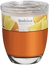 """Духи, Парфюмерия, косметика Ароматическая свеча в стакане """"Апельсин"""", 120/100 - Bolsius Aromatic"""