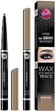 Духи, Парфюмерия, косметика Карандаш-воск для бровей - Bell Wax Eye Brow Pencil