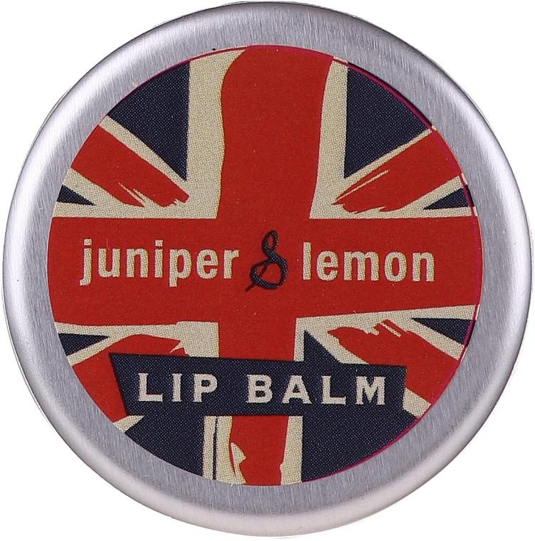 Бальзам для губ - Bath House Lip Balm Juniper & Lemon — фото N2