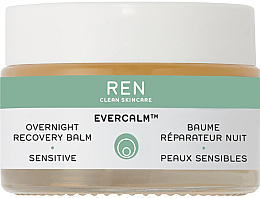 Духи, Парфюмерия, косметика Ночной восстанавливающий бальзам для лица - Ren Evercalm