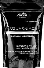 Духи, Парфюмерия, косметика Осветлитель для волос Platinum - Joanna Professional Lightener (саше)