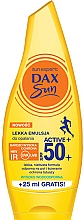 Духи, Парфюмерия, косметика Солнцезащитная легкая эмульсия для тела - Dax Sun Light Emulsion Active+ SPF50