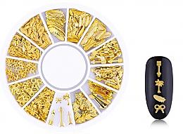 """Духи, Парфюмерия, косметика Украшения для ногтей """"Gold-6"""" - Deni Carte"""