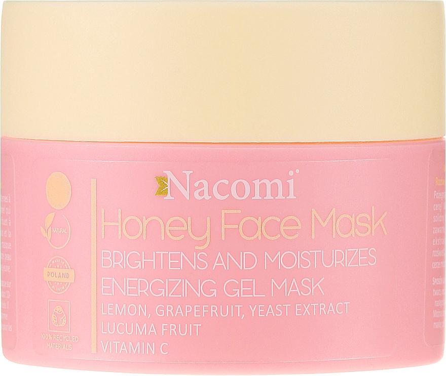 Медовая гель-маска для лица - Nacomi Honey Face Gel-Mask  — фото N1