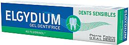 Духи, Парфюмерия, косметика Гелевая зубная паста - Elgydium Sensitive Teeth Toothpaste Gel